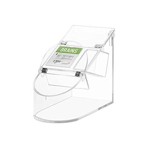 TableTop King SA126 Bulkshop 13.3. Liter Clear Acrylic Scoop Bin by TableTop King
