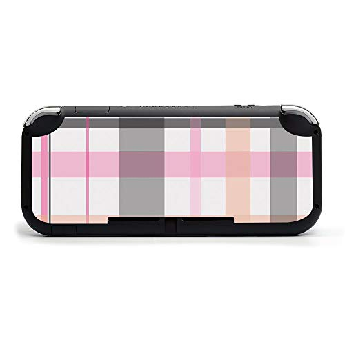 MIGHTY SKINS MightySkins Skin Compatible with Nintendo Switch Lite - Plaid   Protective, Durable, and Unique Vinyl Decal Wrap Cover   Easy to Apply, Remove, and Change Styles   Made in The USA
