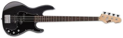 ESP LAP204CHM 4-String Bass Guitar Charcoal Metallic [並行輸入品]   B07FDQ9LJJ
