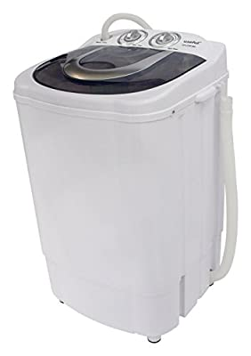 Useful UH-CW204 Semi-Automatic Electric Small Mini Portable Compact Washer Washing Machine with Spin Dry 8.5 LB Capacity