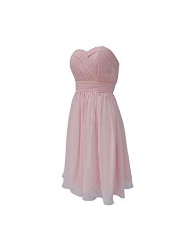 YiYaDawn -  Vestito  - linea ad a - Donna rosa 40