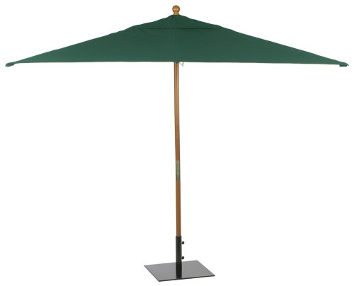 UPC 696829302069, Oxford Garden Sunbrella 10-Foot Rectangular Market Umbrella, Hunter Green