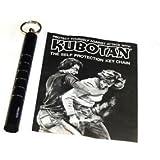 The Original Kubotan Self Defense Baton Keychain by Takayuki Kubota, 100% Solid Polymer, Model: 3102blk, Sport & Outdoor