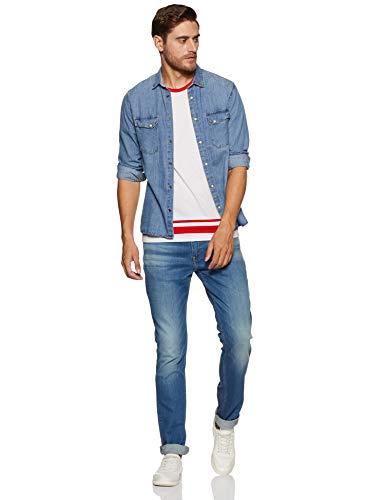 Levi's Men's Slim Fit Jeans 2021 August Care Instructions: Machine Wash Fit Type: Slim Stretchable Jeans