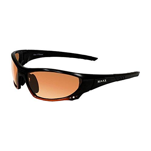 Maxx 17 Black Orange HD - Def Sunglasses High