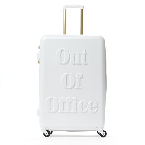 Macbeth Out of Office 29in Rolling Luggage Suitcase, White by Macbeth Women's Office 29in Rolling Luggage Suitcase, White
