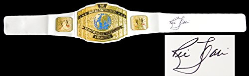 Ric Flair Signed WWE Intercontinental Championship White Replica Belt by Schwartz Sports Memorabilia
