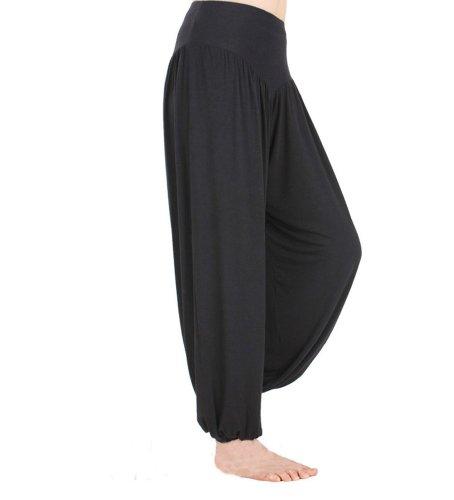 Hoerev Brand Super Soft Modal Spandex Harem Yoga Pilates Pants