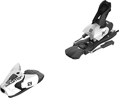 SALOMON Z12 Ski Bindings Sz 75mm White/Black