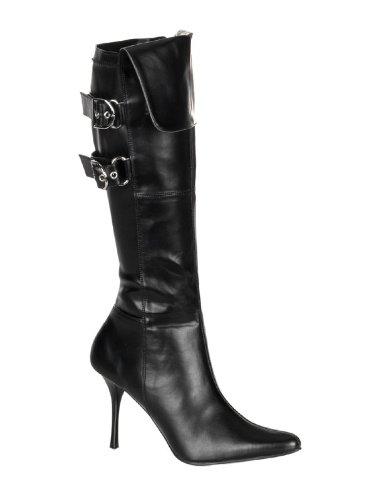Funtasma by Pleaser Women's Halloween Pirate-125 Boot,Black,7 M