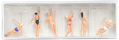 10306 Recreation & Sports Swimming People pkg(6) HO Scale Figure (Scale Ho People)