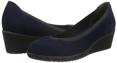 Tozzi Marco Zapatos De navy 890 22301 Azul Mujer Comb Tacón Para Hxxfd1w