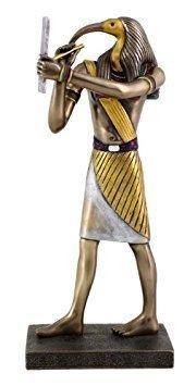 Egyptian God Statues (Thoth - Egyptian God of Knowledge & Wisdom Statue Figurine)