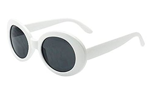 Kurt Cobain Costume (MOD Style Costume Sunglasses (White))