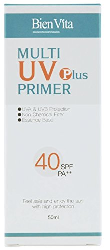 Eye Protection Multi (FDA registered Bien Vita Multi UV Primer Plus SPF40++ sunscreen, primer, non-chemical, natural, skin protection, No eye stinging or burning sensation.)