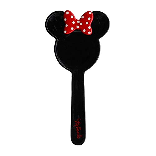 Disney Minnie Mouse Black Ceramic Kitchen Spoon Rest, 10 Inches (Cute Rest Spoon)