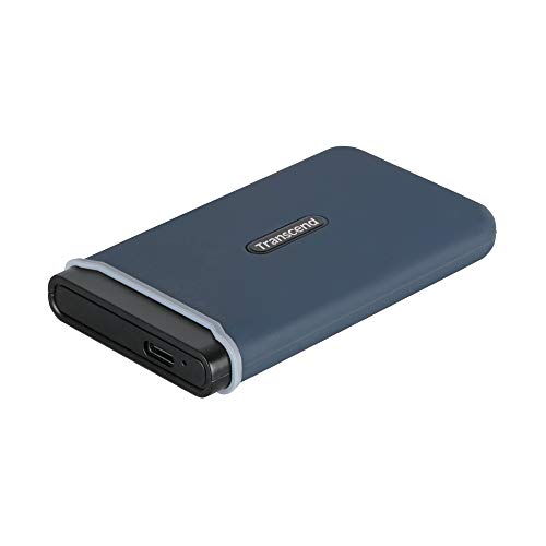 Transcend USB 3.1 Gen 2 USB Type-C ESD350C Portable SSD Solid State Drive TS480GESD350C