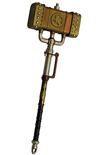 Forum Steampunk Mallet Toy Weapon Adult One Size