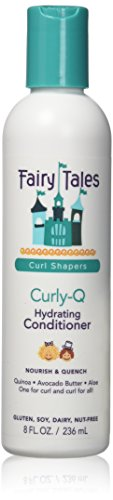 Fairy Tales Hair Care Curly-Q Hydrating Conditioner – Sulfate & Paraben Free – 8oz