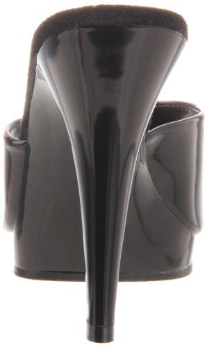 Fabulicious FLAIR-401-2 - Sandalias abiertas para mujer Negro (black)