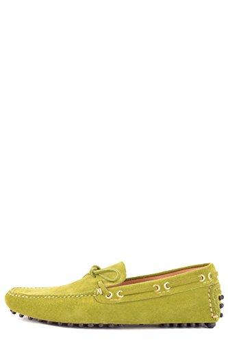 Mocasín MCBI063043O Shoe Verde Car Hombre Gamuza XZqgf
