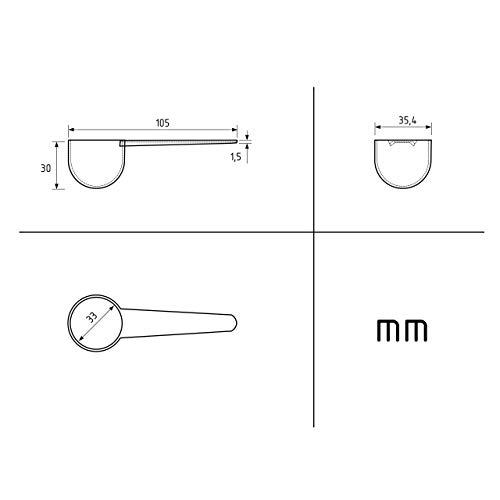 10 Gram 15 Clear Measuring Smidgen Micro Scoop 20 Ml PP Lab Measuring Mini Spoons for Powder Measurement or Baking - Static-free Plastic Tiny Scoops for Grams Small Measure
