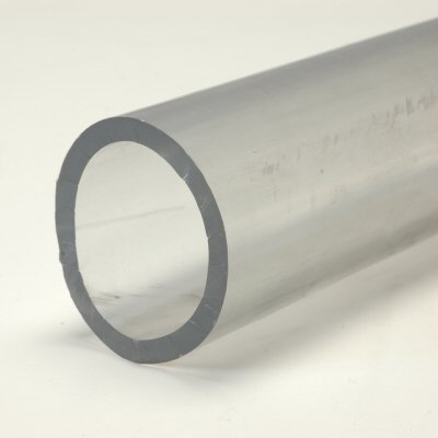 Clear 2.25 Inch Fuel Hose 2 Feet Length
