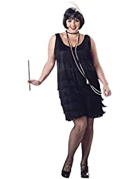 Women's Fashion Flapper Plus Size Costume