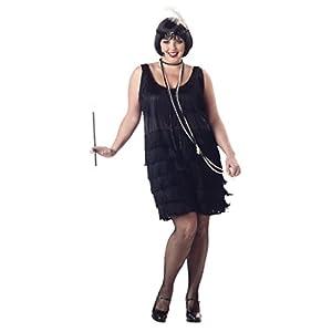 Plus Size Flapper Costumes. California Costumes Women s Fashion Flapper  Plus Size Costume 064189afe