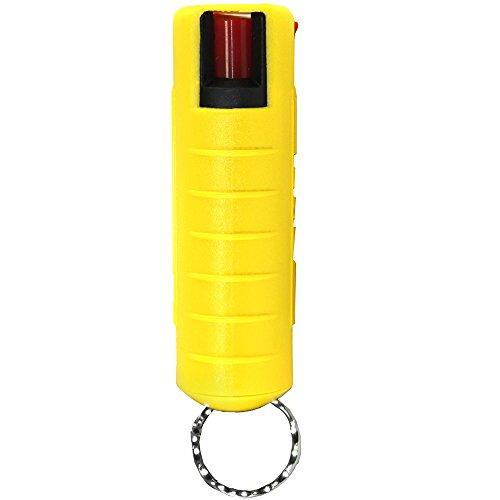 Streetwise 18 Pepper Spray 4 Million SHU 1/2 oz Yellow Hard Case with Key ()
