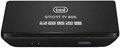 Smart TV Internet Box 4 K Android QuadCore Bluetooth Trevi IP 365 ...