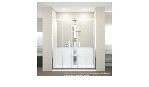 Mampara de ducha Revolution Novellini 140 x 80 cm o 160 x 80 cm ...