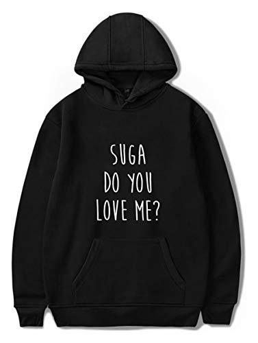 Per Leggera Bts Uomo Lovers V Kook Kpop Suga Fans J Jung Simyjoy Top Nero Cool hope Donna Bangtanboys Felpa Con Jimin Teen Cappuccio 6U4FIqF