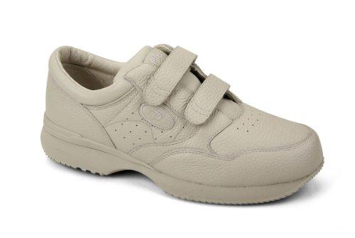 Propet Men's M3715 Leisure Walker Strap Sneaker,Ice Grain,13 M (US Men's 13 ()