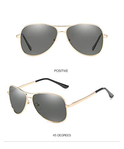 ZJWZ Gafas De Sol Nueva Tendencia Retro Polarizada De Color ...