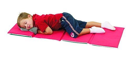 Children's Factory Pillow Rest Mat - Red/Green 10 Pack Classroom Furniture (CF400-011)