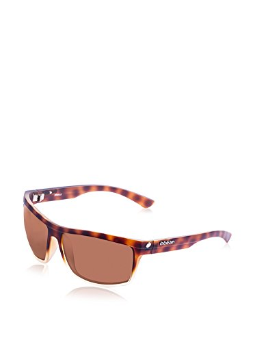 Ocean Sunglasses 20000.9 Lunette de Soleil Mixte Adulte, Marron, Taille Unique