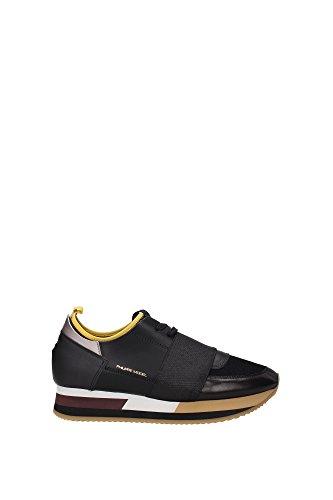 Philippe Model - Zapatillas para mujer negro negro Negro
