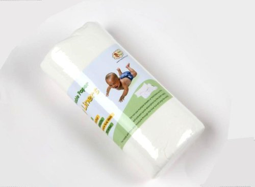 1 Roll of 100 Sheets BAMBOO Disposable Flushable Baby Cloth Nappy Liners just4baby