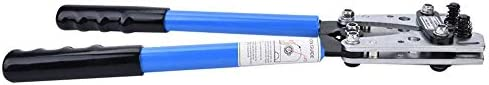 ワイヤー圧着、クリンパー、6-50mm²ワイヤーターミナルクリンパーハードツールスチールターミナルクリンピング電気技師ハンドツール