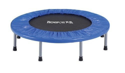 dazzling toys 38'' Foldable Trampoline- Silver by dazzling toys