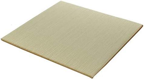日本製 置き畳 へりなし ふっくら『 ハイハイ畳 6枚セット 』(#8319509×6)#1605 サイズ:82×82×1.9cm 九州産無染土い草使用