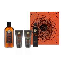 (Erbario Toscano Black Pepper Shower Bath & Shave Set)
