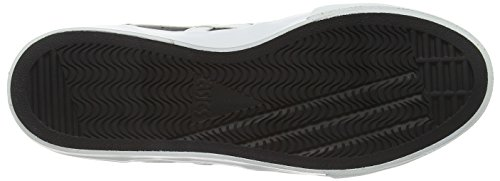 Asics Ns-Court, Unisex Adults' Low-Top Sneakers Black (Black/White 9001)