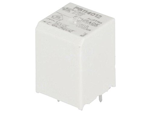 PB114012 Relay electromagnetic SPDT Ucoil12VDC Icontacts max10A 8-1415029-1