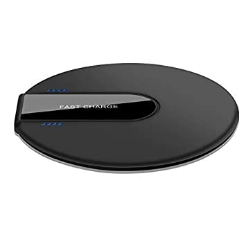 Hoidokly Cargador Inalámbrico Rápido Qi, 10W Fast Wireless Charger para iPhone XS/XS MAX
