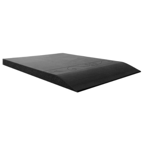 Smart Step Home Collection Fleur-de-Lys Design Mat, 72-Inch by 20-Inch, Black by Smart Step Therapeutic Flooring (Image #3)