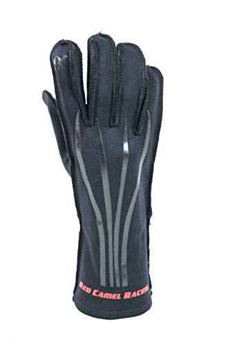 Red Camel WLVRN Kart Racing Glove Black/Black ()