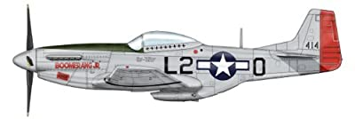 North American Aviation P-51 Mustang. This Limited Edition Collector's Diecast model of the P-51D 1:48 scale Mustang is Personally Signed by Pilot Ace Col. Arthur Jeffrey, made by Hobby Master and sold by Historic Aviation of Minneapolis