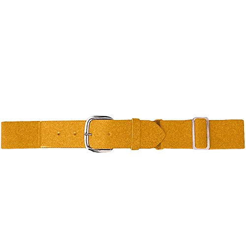 Augusta Sportswear Kids' Elastic Baseball Belt, Gold, One Size ()